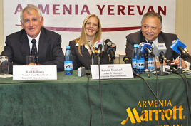 Marriott Armenia Press Conference