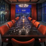 Private Dining Room, at Del Frisco's Double Eagle Steak House, Boston, MA