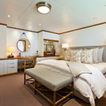 Guest Suite aboard the Luxury Adventure Yacht, SuRi, San Francisco, CA